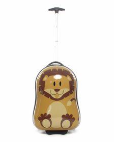 Paklite Zoo Baby Trolley Case Lion - Brown