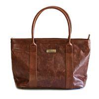 Mally Brown Leather Emily Handbag