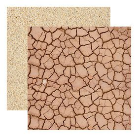 Kaisercraft Base Coat Double Sided Paper - Sand (10 Sheets)