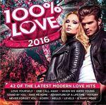 Various - 100% Love 2016 (CD)