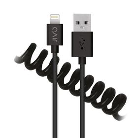 Jivo Lightning To USB Cable 1.2 Meters - Black (Coiled)