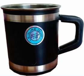 LeisureQuip - Mug With Insulated Handle 9cm - Black