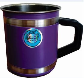 LeisureQuip - Mug With Insulated Handle 9cm - Purple