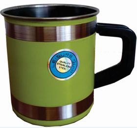 LeisureQuip - Mug With Insulated Handle 9cm - Green
