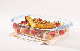 Pyrex - Optimum Glass Rectangular Roaster - 2.1 Litre