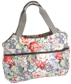 Notting Hill side Pocket Handle Handbag - Light Floral