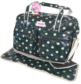 Notting Hill Two Pocket Nappy Bag - Dots