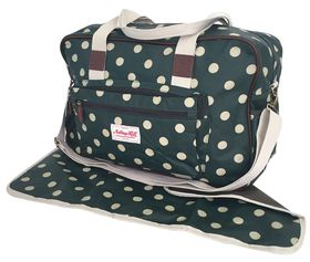 Notting Hill Large Front Pocket Nappy Bag - Dots
