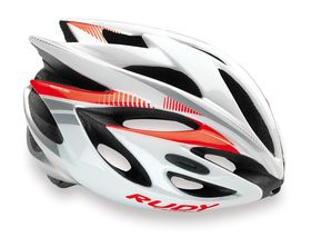 Rudy Project Rush Helmet White & Red - (Size: S)