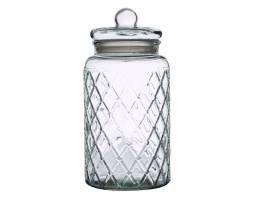 Casa - Domani Trellis Storage Jar - 4.35 Litre