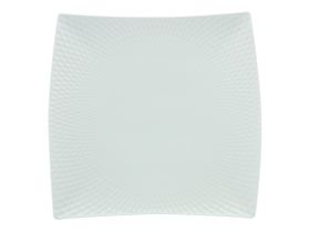 Maxwell and Williams - White Basics Diamonds Square Side Plate - 37.5cm