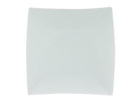 Maxwell and Williams - White Basics Diamonds Square Entree Plate - 23cm