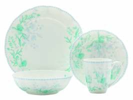 Maxwell and Williams - Cashmere Charming Atlantis Dinner Set - 16 Piece