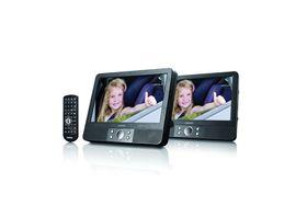 """Lenco 9"""" Dual Screen Portable DVD Player"""