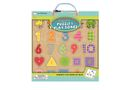 Magnetic Puzzle & Play Boards: Shapes, Colors & Counting