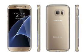Body Glove Clownfish Aluminium For Samsung Galaxy S7 Edge - Clear/Gold
