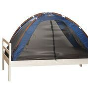 Deryan - Single Bed Tent and Mosquito Net - Navy Blue