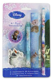 Disney Frozen Eternal Winter 5 Piece Stationery Set