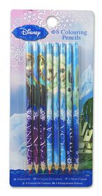 Disney Frozen 8 Colouring Pencils