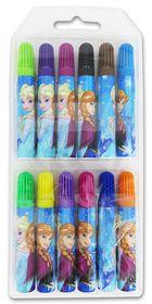 Disney Frozen Elsa 12 Chunky Marker Set