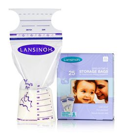 Lansinoh - Breast Milk Storage Bags - 25 Piece