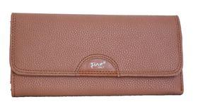 Fino Pu Fine Pebbled Leather Purse 993/765 - Brown