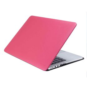 """Astrum Laptop Shell MacBook Air 13"""" Leather Pink - LS330"""