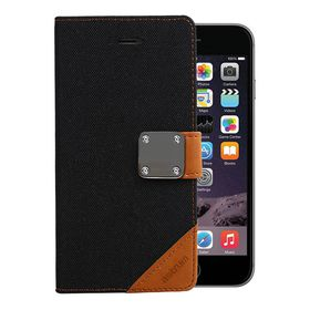 Astrum Matte Flip Cover Case Iphone 6 Plus Black - MC620