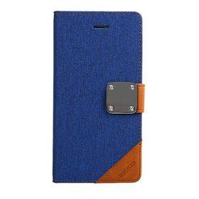 Astrum Matte Flip Cover Case Iphone 6 Plus Blue - MC620