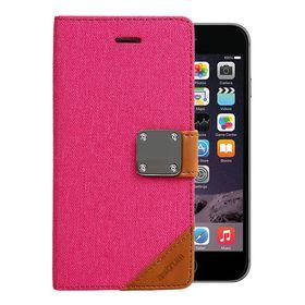 Astrum Matte Flip Cover Case Iphone 6 Plus Pink - MC620
