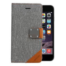 Astrum Matte Flip Cover Case Iphone 6 Plus Grey - MC620