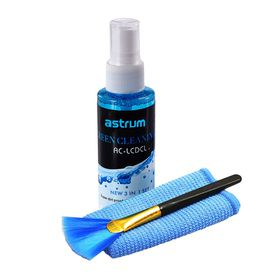 Astrum Cleaning Kit 3 In 1 Liquid Cloth Brush - CS110