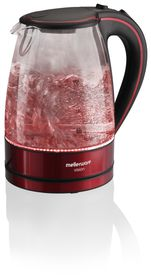 Mellerware - Vision ll Glass Kettle - Red