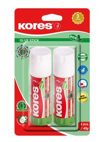 Kores Eco Glue Stick - 2 x 40g