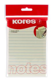 Kores Lined Notes 150x100mm 100 Sheets