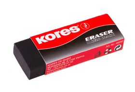Kores KE20 Black Eraser - Pack of 2