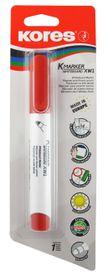 Kores K-Marker Whiteboard Round Tip Marker - Red