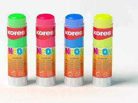 Koers Neon Glue Sticks 20g - Box of 12