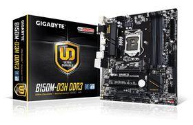 Gigabyte B150M-D3H Skt1151 M-Atx Motherboard Ddr3 Support