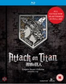 Attack On Titan: Complete Season One Collection (Blu-Ray)