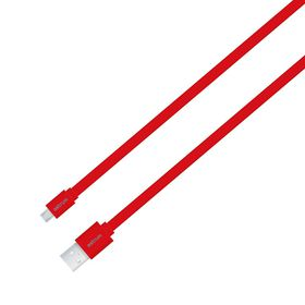 Astrum Charge / Sync Micro USB Flat Cable - Red
