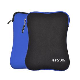"Astrum 7.0"" Dual Side Neoprene Sleeve - TS070 Black/Blue"
