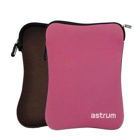 """Astrum 10.0"""" Dual Side Neoprene Sleeve - TS100 Pink / Brown"""
