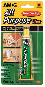 Amos All Purpose Clear Glue - 30ml