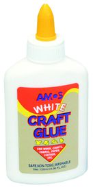 Amos White Craft Glue - 120ml