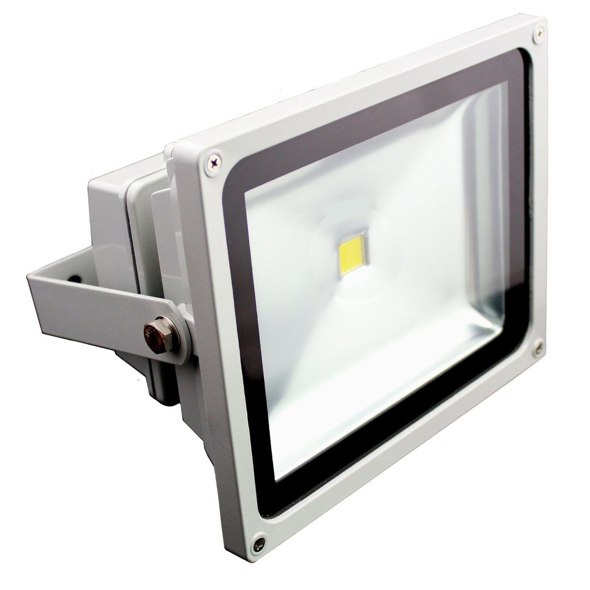 white flood light floodlight daylight frameless brackenheath lighting led asp black ispot p