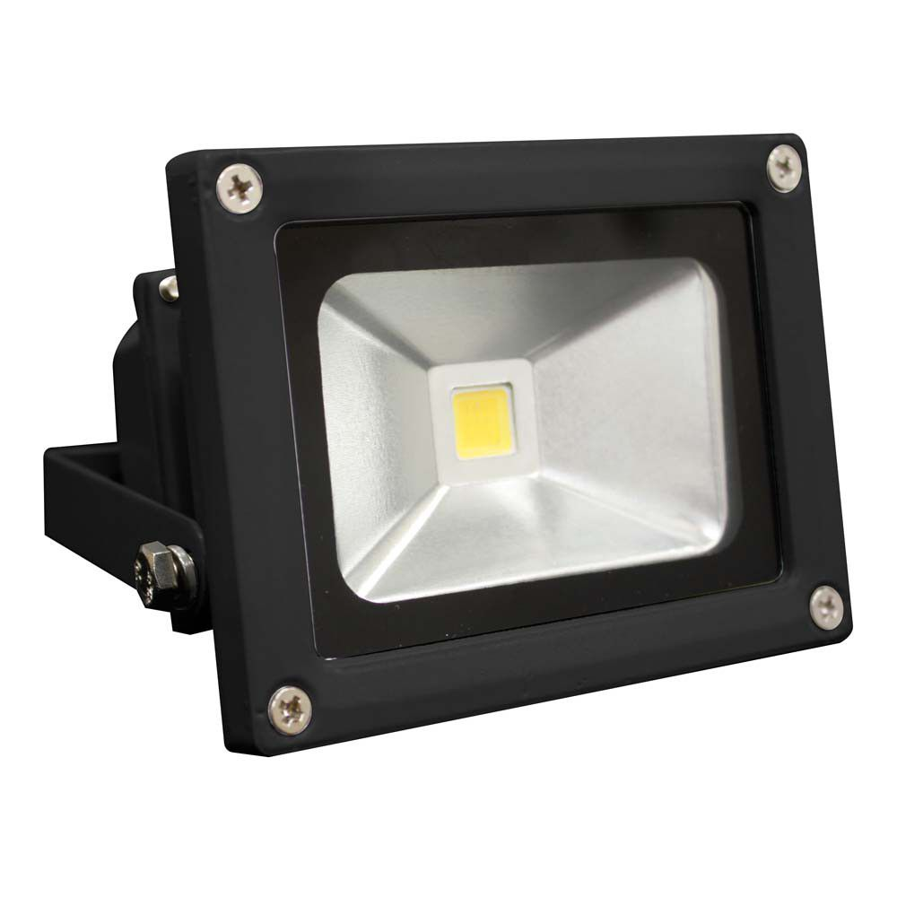 Led Flood Light In Ahmedabad: Black (battery Powered Only