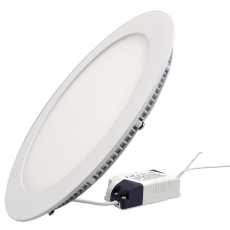 12W Round LED Panel Light - White 2 Pack | Buy Online in South