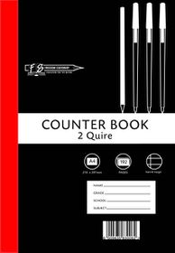Freedom Stationery 2-Quire 192 Page A4 F&M Counter Book (5 Pack)