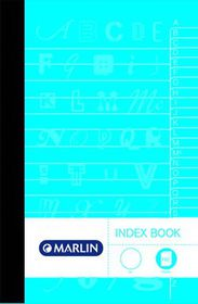 Marlin 2-Quire 192 Page A4 Counter Index Book